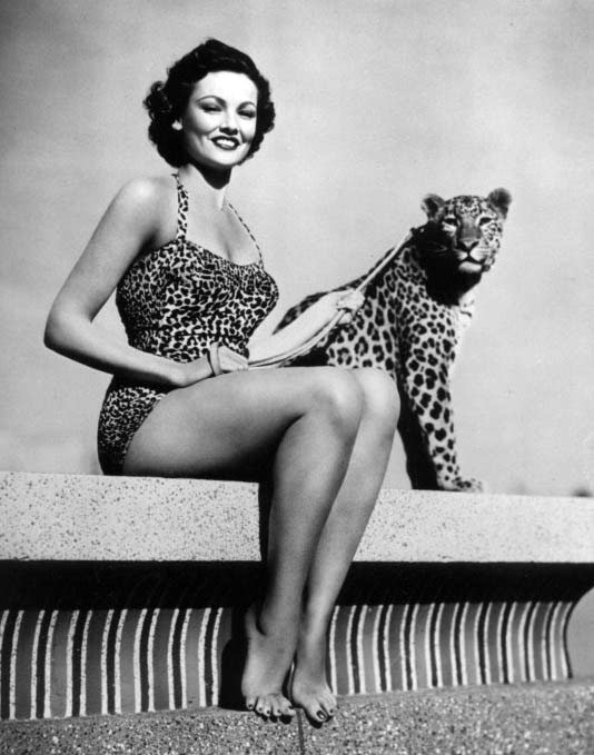 Gene-Tierney-and-leopard